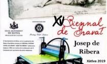 "XV BIENAL INTERNACIONAL DE GRABADO ""JOSEP DE RIBERA"" - XÀTIVA 2019"