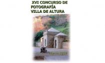 BASES XVI CONCURSO / EXPOSICIÓN DE FOTOGRAFÍA VILLA DE ALTURA