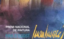 PREMIO NACIONAL DE PINTURA JUAN FRANCÉS FIRA D'AGOST 2019. XÀTIVA