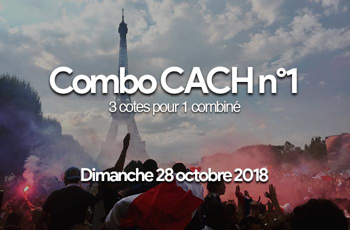 Combo CACH : Dimanche 28 octobre 2018