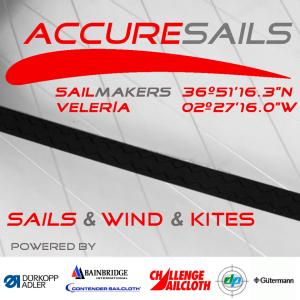 ACCURESAILS VELERIA logo