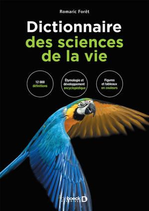Dictionnaire des sciences de la vie