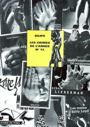 Crimes de l'année (Les). n° 13, Les crimes de l'année : sélection critique des ouvrages policiers parus entre août 2002 et août 2003