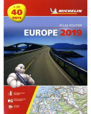 Europe 2019 : atlas routier et touristique = Europe 2019 : tourist and motoring atlas = Europa 2019 : Strassen- und Reiseatlas