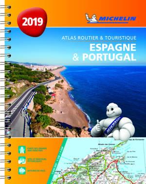Espagne & Portugal 2019 : atlas routier et touristique = Espana & Portugal 2019 : atlas de carreteras y turistico = Espana & Portugal 2019 : atlas rodoviario e turistico