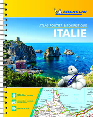 Italie : 1:300.000 : atlas routier et touristique = Italia : 1:300.000 : atlante stradale e turistico = Italia : 1:300.000 : tourist and motoring atlas