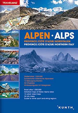 Alpen : Provence-Côte d'Azur, NordItalien = Alps : Provence-Côte d'Azur, Northern Italy