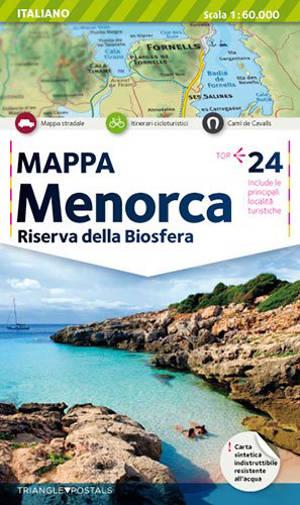 Minorca : riserva della biosfera : mappa