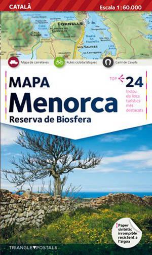 Menorca : reserva de biosfera : mapa