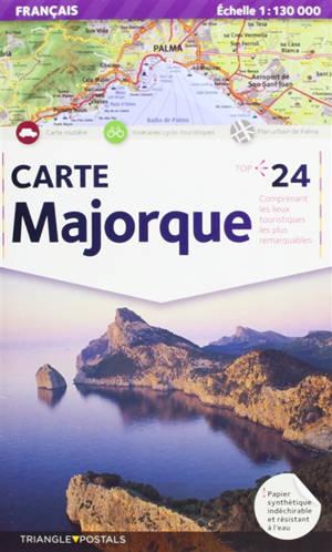 Majorque : carte