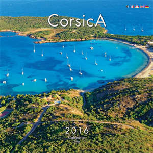 CorsicA : calendrier atlas 2021