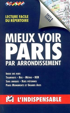Mieux voir Paris par arrondissement