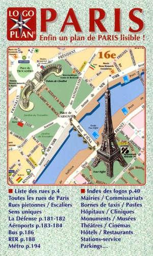 Paris : enfin un plan de Paris lisible !
