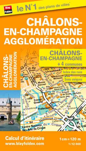 Châlons-en-Champagne : agglomération