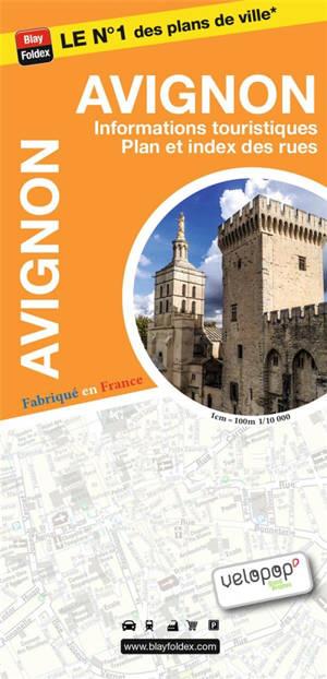 Avignon : informations touristiques, plan et index des rues