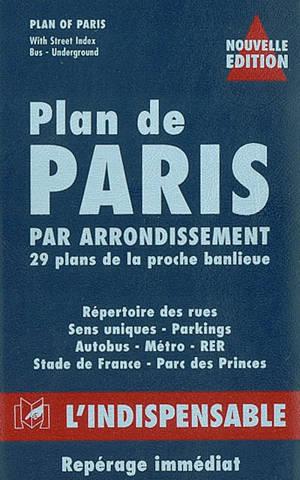 Plan de Paris par arrondissement, 29 plans de la proche banlieue, R16