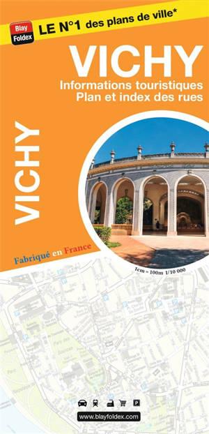 Vichy : informations touristiques, plan et index des rues