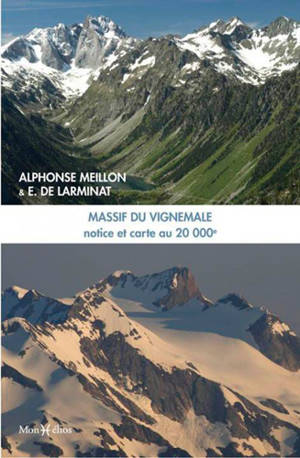 Notice sur la carte au 20.000e du massif de Vignemale : régions sud de Cauterets, ouest et nord-ouest de Gavarnie
