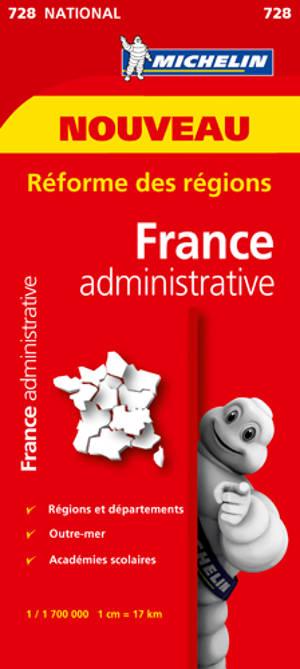 France administrative : réforme des régions