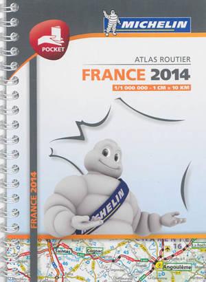 France 2014 : atlas routier
