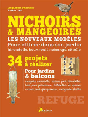 Nichoirs & mangeoires : nouveaux modèles