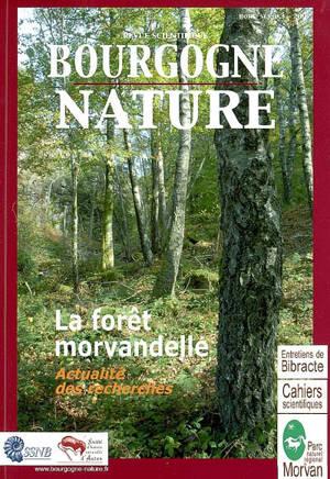Revue scientifique Bourgogne Nature, hors série. n° 3, La forêt morvandelle : actualités des recherches