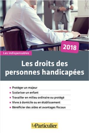 Les droits des personnes handicapées : 2018