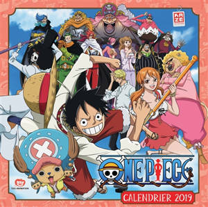 One piece : calendrier 2019