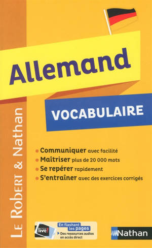 Allemand : vocabulaire