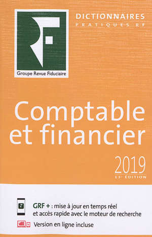 Comptable et financier : 2019