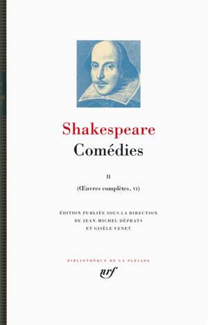 Oeuvres complètes, Volume 6, Comédies. Volume 2