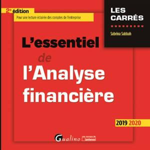 L'essentiel de l'analyse financière : 2019-2020