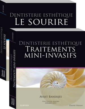Dentisterie esthétique : pack 2 tomes