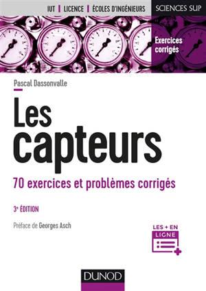 Les capteurs : 70 exercices et problèmes corrigés
