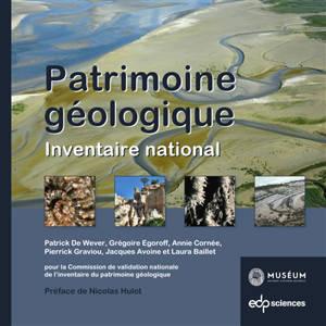 Patrimoine géologique : inventaire national
