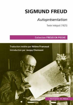 Autoprésentation : texte intégral (1925)
