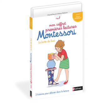 Mon coffret premières lectures Montessori : La botte de Suzi : niveau 1