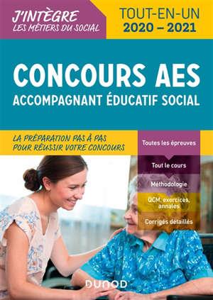 Concours AES : accompagnant éducatif social : concours 2020-2021
