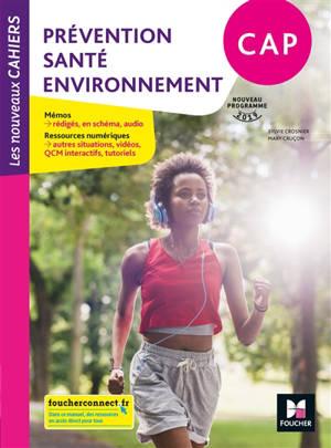 Prévention, santé, environnement, CAP : nouveau programme 2019