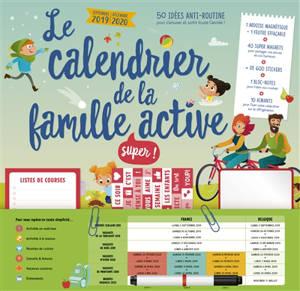 Calendrier De Decembre 2020.Le Calendrier De La Famille Super Active De Septembre 2019 A Decembre 2020