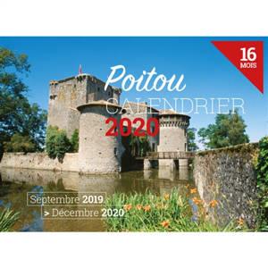 Le Poitou : calendrier 2020 : 16 mois, septembre 2019-décembre 2020