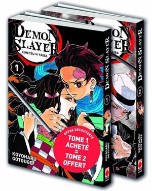 Demon slayer : pack offre découverte (tome 1 & 2)