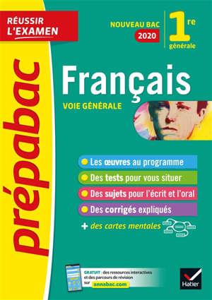 Français 1re générale : nouveau bac 2020