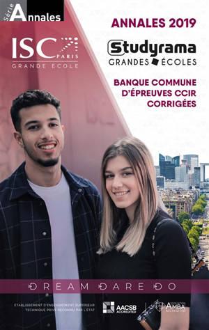 Annales 2020 de la banque commune d'épreuves CCIR : sujets et corrigés : HEC, ESSEC, ESCP Europe...