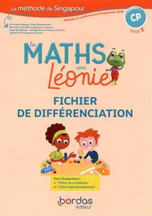 Les maths avec Léonie, CP, cycle 2 : fichier de différenciation