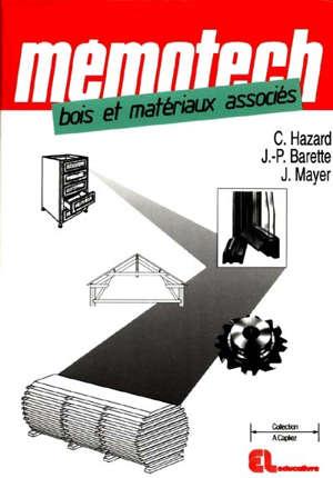 Mémotech bois et matériaux associés