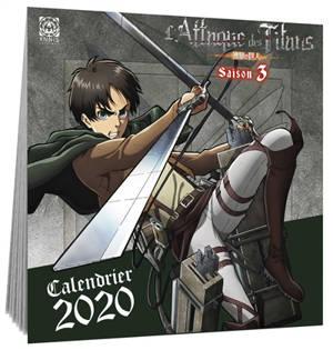 L'attaque des titans : calendrier 2020