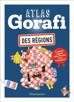 Atlas Gorafi des régions de France