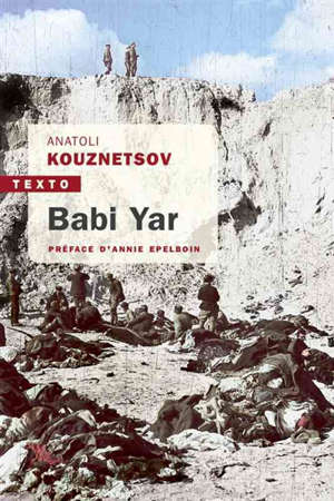 Babi Yar : roman-document