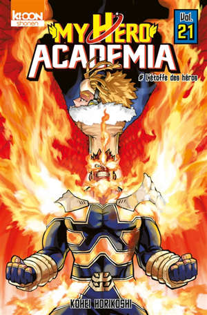 My hero academia. Volume 21